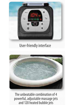 PureSpa Jet & Bubble Deluxe Spas
