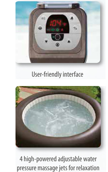 PureSpa Jet Massage Spas